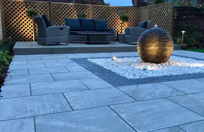 newark garden designer water feature Tythorne Garden Design
