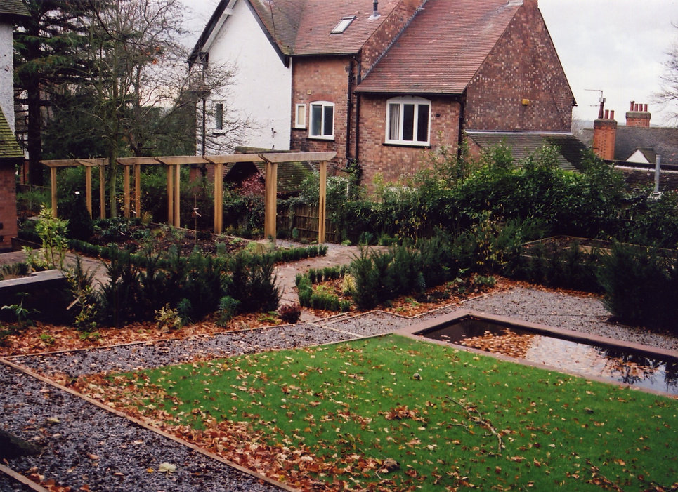 garden design for overlooked gardens tythorne garden design