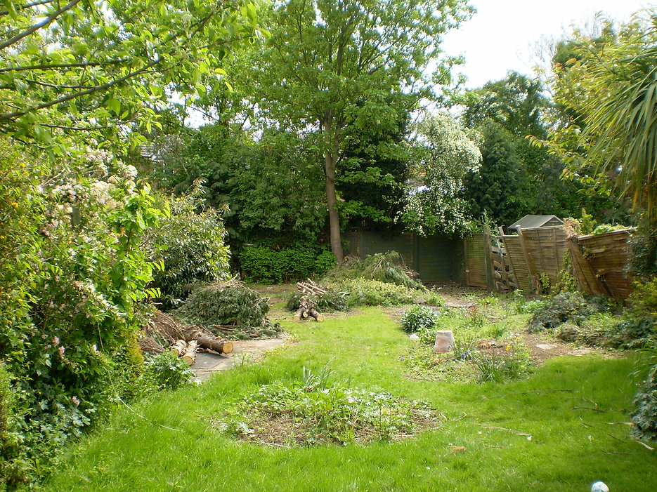 garden design for overgrown gardens Tythorne Garden Design