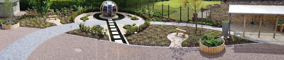 grantham garden designer summerhouse tythorne garden design