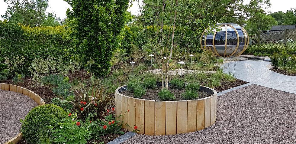 grantham garden designer raised beds tythorne garden design