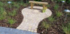 grantham garden designer stone setts tythorne garden design