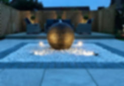 newark garden lighting design Tythorne Garden Design