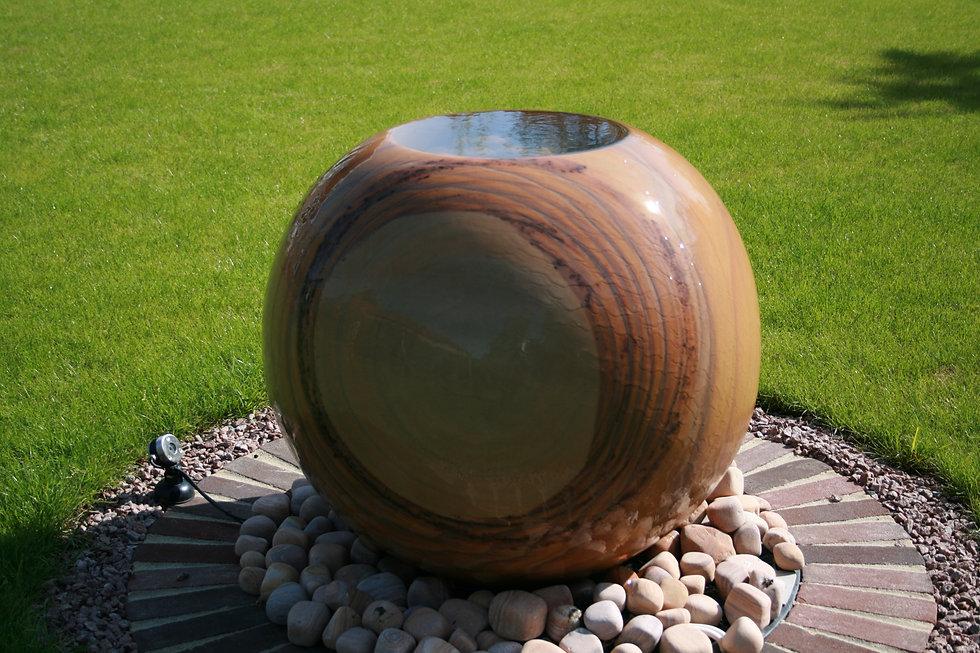grantham garden designer water feature tythorne garden design