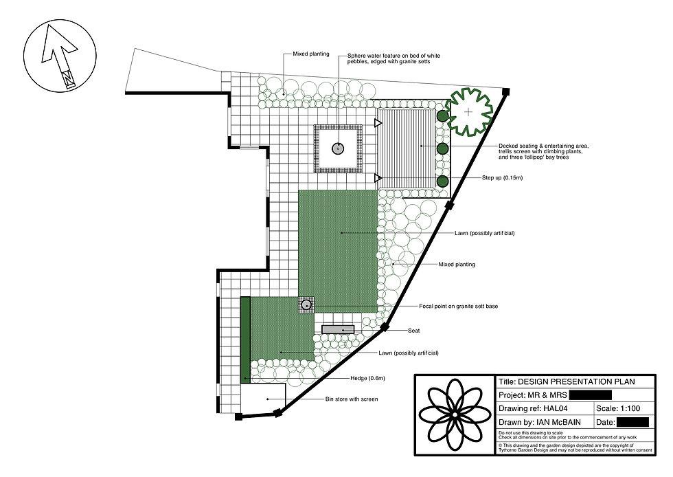 garden designer newark design plan Tythorne Garden Design