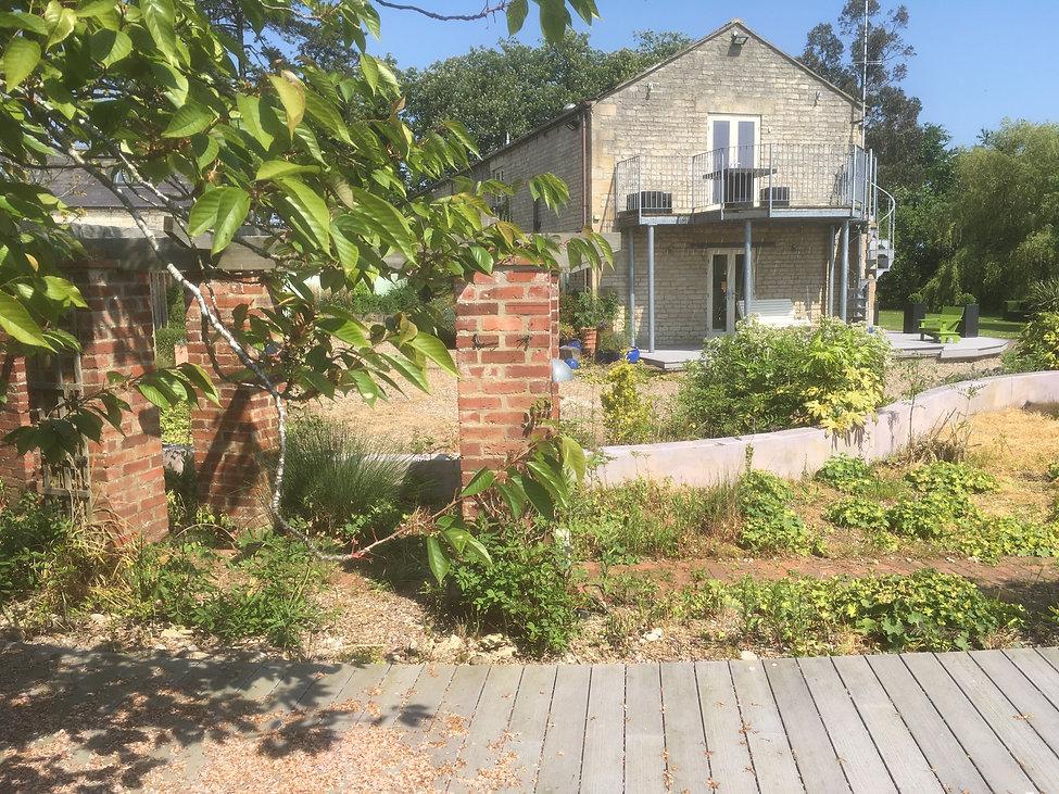 grantham garden design before Tythorne Garden Design