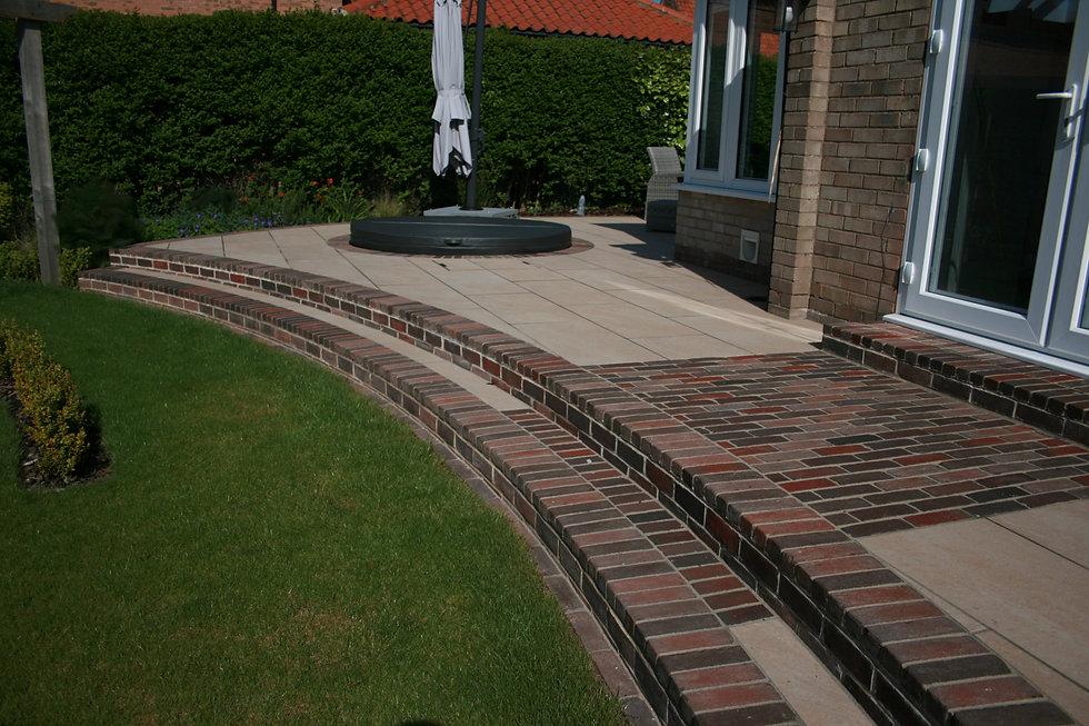 grantham garden designer steps tythorne garden design