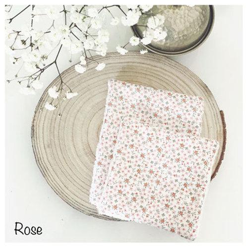 Coton Lavable Rose
