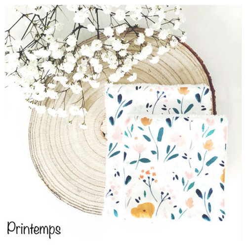 Coton Lavable Printemps