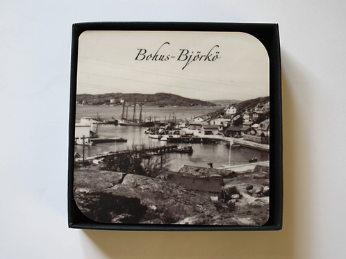 Glasunderlägg - Bohus-Björkö