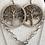 Thumbnail: Tree of Life Earrings