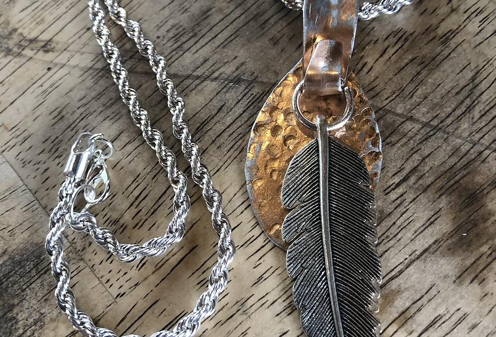 Copper Spoon Necklace