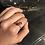 Thumbnail: Orange Single Stone Ring