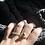 Thumbnail: Double Stone Ring