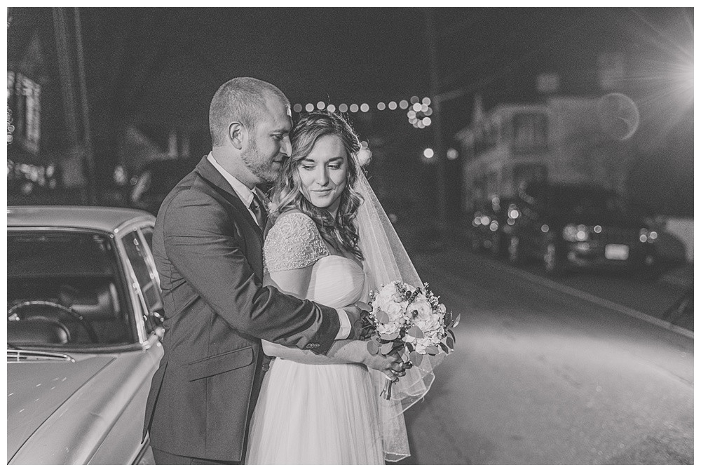 winter wedding, Kyle house, Virginia wedding, Austin & Austin Photography, night portrait, street photography