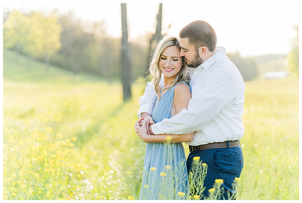 blue ridge mountains, buchanan engagement session, Virginia engagement wedding photographer, Austin & Austin Photography