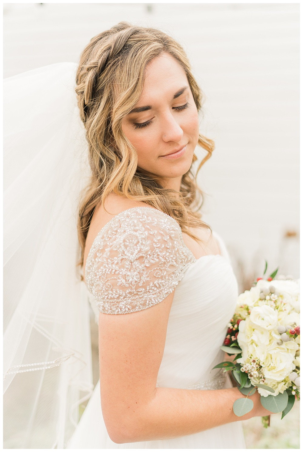 winter wedding, Kyle house, Virginia wedding, Austin & Austin Photography, bride