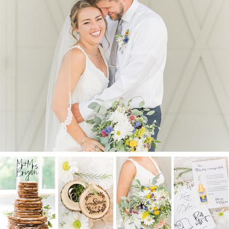 Dylan & Kacey | Wedding | Baileywick Farm, Fincastle Virginia