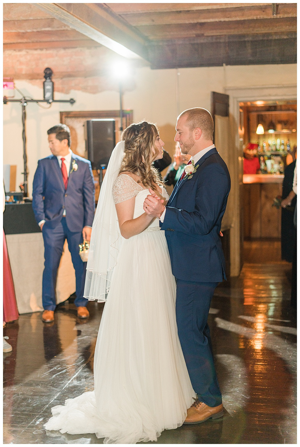 winter wedding, Kyle house, Virginia wedding, Austin & Austin Photography, first dance
