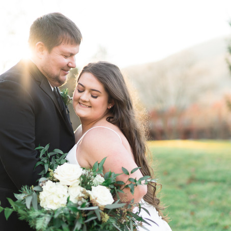 AJ & Jade: A Homestead Winter Wedding