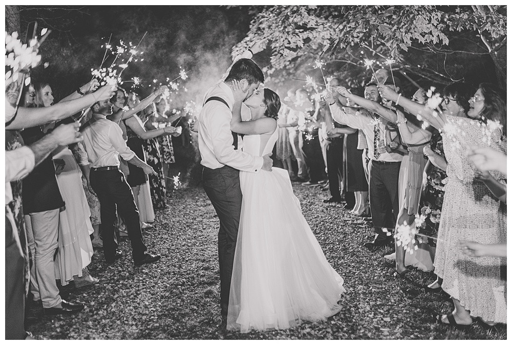 Virginia Wedding Photography, Best of 2019, Austin & Austin Photography, sparkler exit