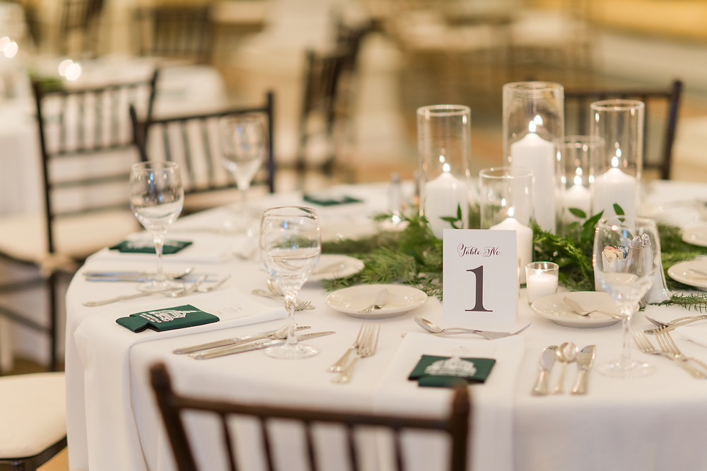 Winter Wedding Table Set