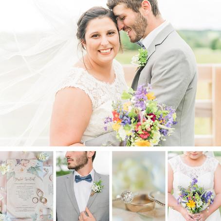Andrew & Kirkland | Wedding | Whistle Hollow Farm, Fairfield Virginia