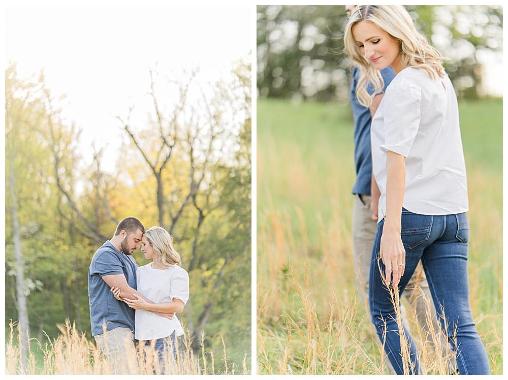 blue ridge mountains, buchanan engagement session, Virginia engagement wedding photographer, Austin & Austin Photography