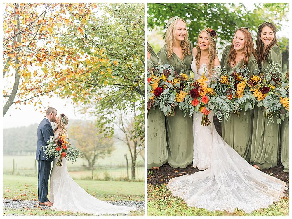 Fincastle  Virginia Wedding, 2020 wedding photographer, best of  2020 weddings, elopement, Austin & Austin Photography, Boho Bride, Backyard Wedding