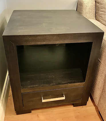 Steel City End Table