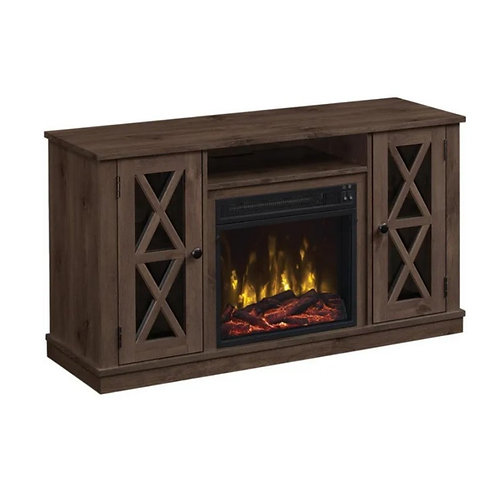 """TWIN STAR HOME 47.5"""" Lukas Media Electric Fireplace"""
