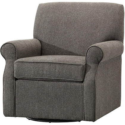 PAIANO Brian Midnight Accent Swivel Chair