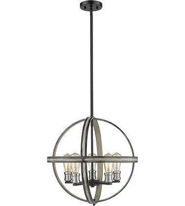 Z-Lite - Kirkland 5 Light Pendant Ceiling Light