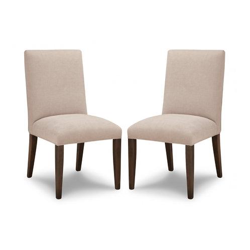 HANDSTONE Cordova Leather Side Chair