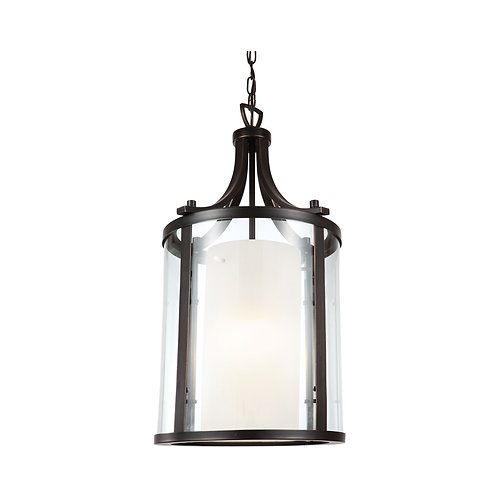 DVI Essex 1 Light 10 inch Oil Rubbed Bronze Pendant Ceiling Light