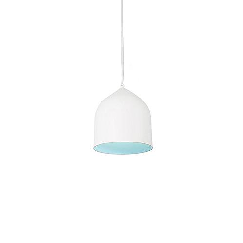 KUZCO Helena collection White/Blue Pendant