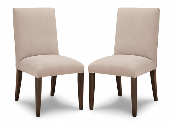 HANDSTONE P-CV20Leather Side Chair
