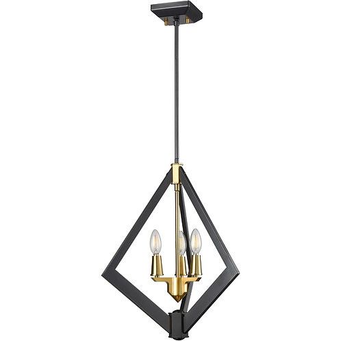 DVI Flechette 3 Light Foyer Ceiling Light