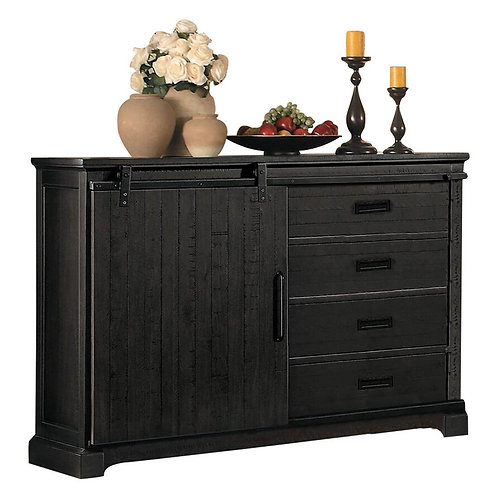 STEVENSVILLE COLLECTION Rustic Server - Floor Model (damaged)