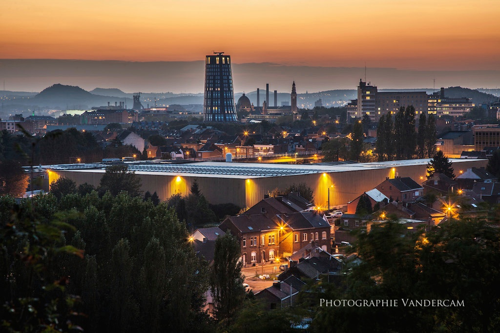 Charleroi by night