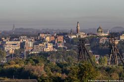 Vue panoramique de Charleroi