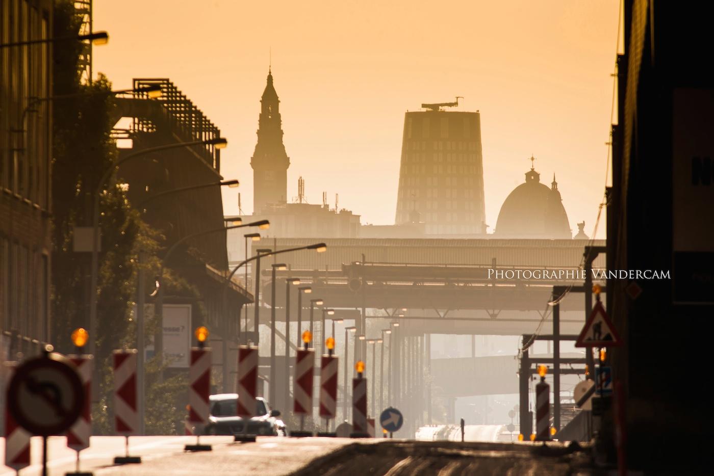 Skyline vue de l'ouest