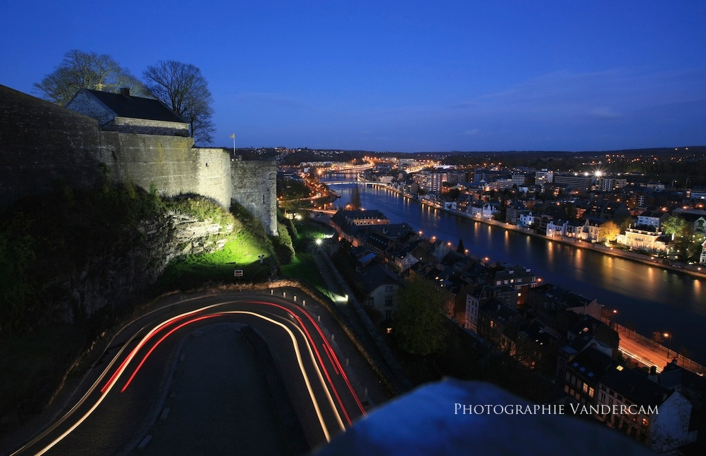 Namur by night
