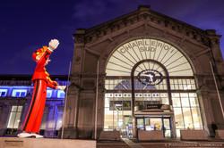 Spirou et gare de Charleroi