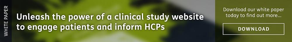 Clinical study websites