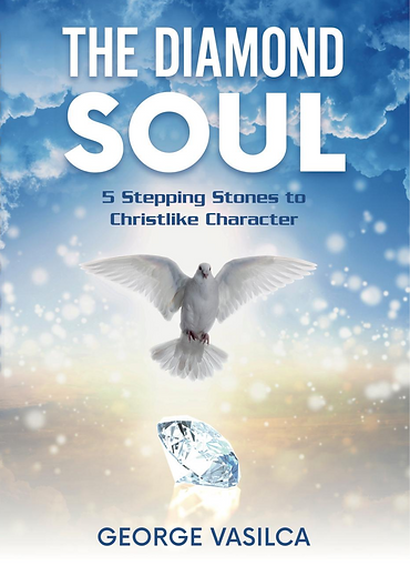 The Holy Spirit represented by a white dove brings Diamond Soul character to reader
