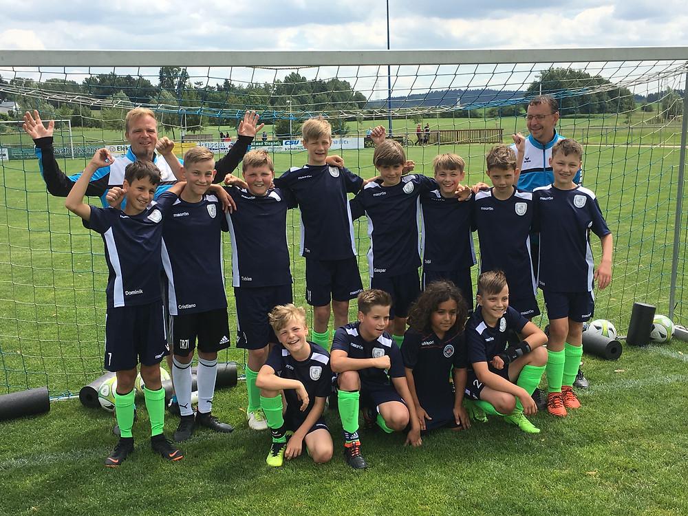 U12 wird Kreisligameister München Nord