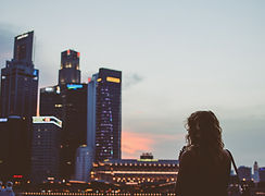 Woman and buildings.jpg