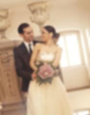 Hochzeitsfoto Braut Bräutigam