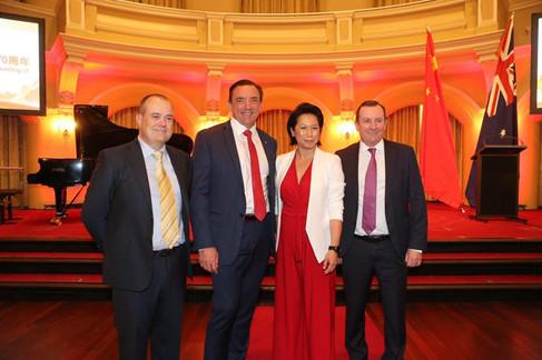 中国建国70周年西澳庆典活动